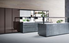 New Artematica Ottone Anticato kitchen by Valcucine
