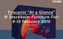 Foscarini took part in the Stockholm Furniture Fair
