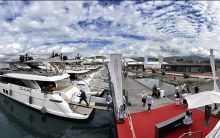 Roda's  Furniture at the Genoa Boat Show
