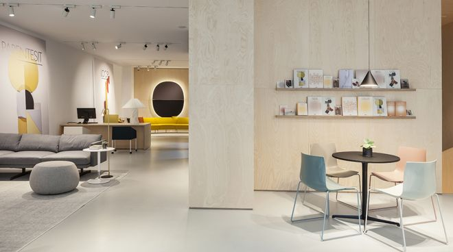 Arper at Milan Forniture Fair with a new concept