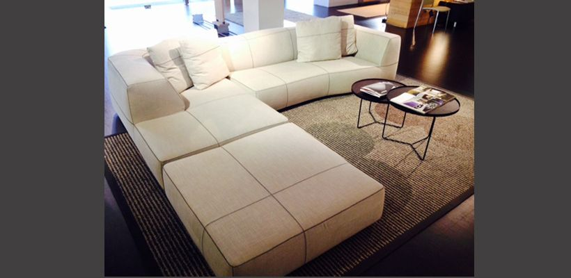 B b italia bend sofa for B b couch